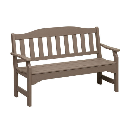 Casual Comfort Poly Lumber 4 ft Garden Bench