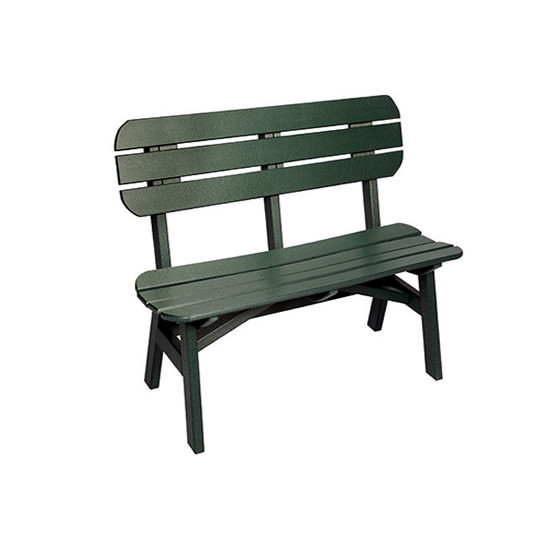 Casual Comfort Poly Lumber 4' Oceanside Bench