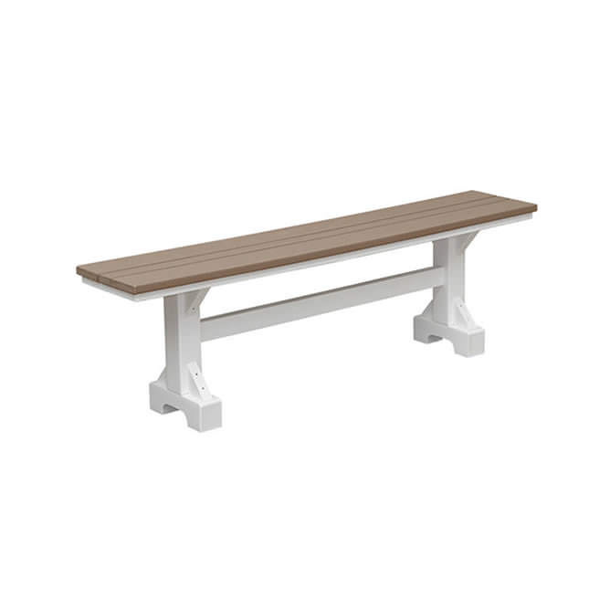 Casual Comfort Poly Lumber 4' Bench