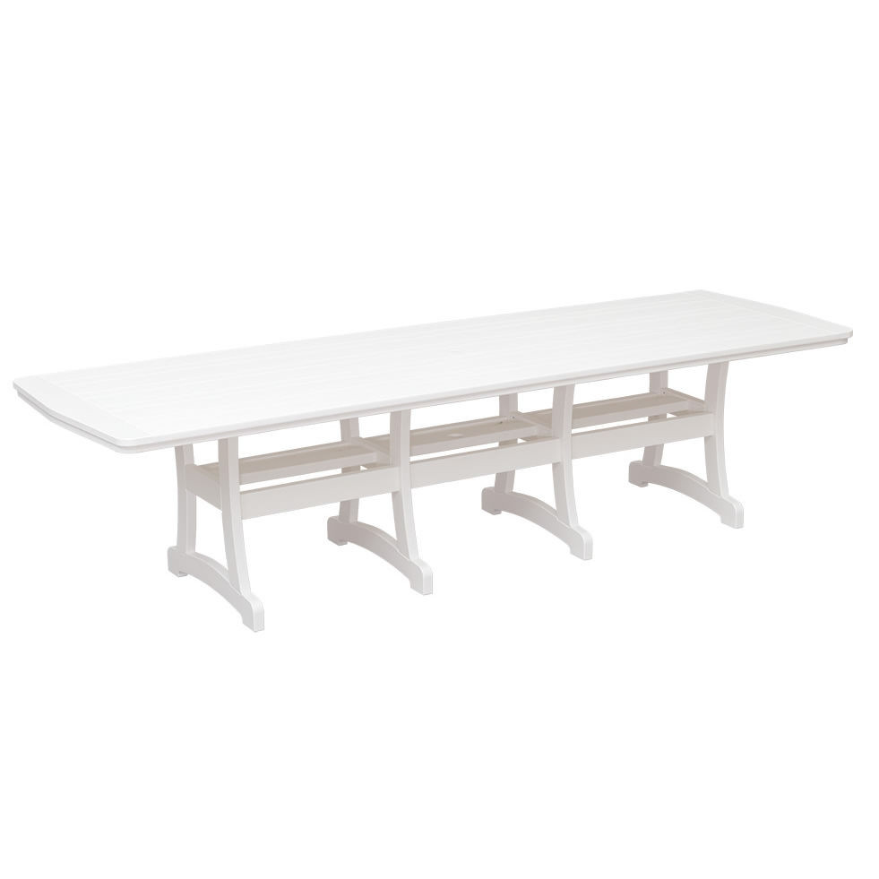 Casual Comfort Poly Lumber 40 x 120 Bayshore Dining Table