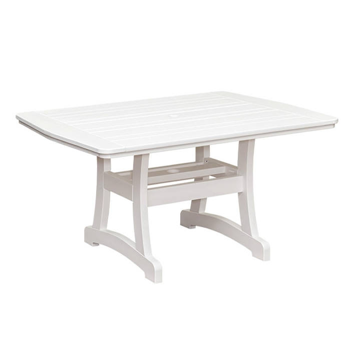 Casual Comfort Poly Lumber 40 x 60 Bayshore Counter Table