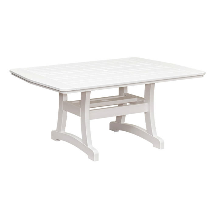 Casual Comfort Poly Lumber 40 X 60 Bays Dining Table Bay S Collection Collections