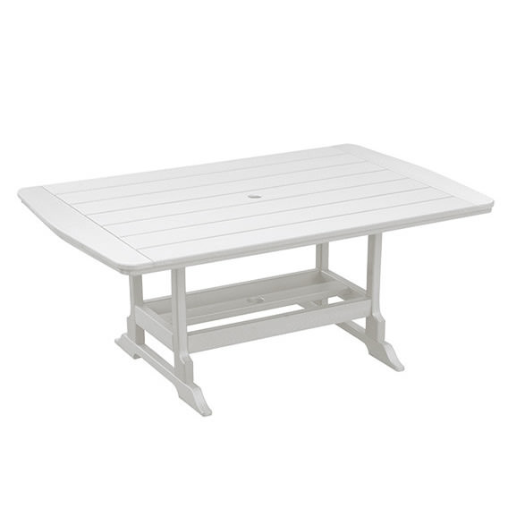 Casual Comfort Poly Lumber 40 x 60 Oceanside Dining Table