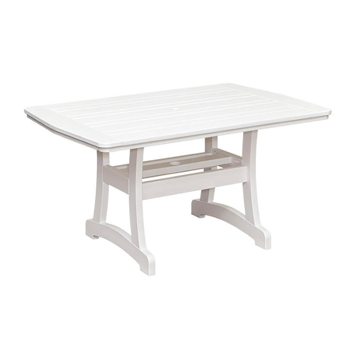 Casual Comfort Poly Lumber 40 x 72 Bayshore Counter Table