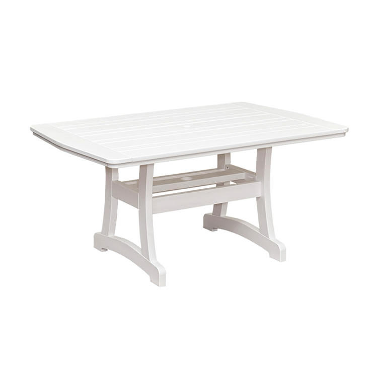 Casual Comfort Poly Lumber 40 x 72 Bayshore Dining Table