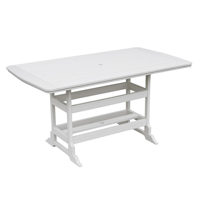 Casual Comfort Poly Lumber 40 x 72 Oceanside Counter Table