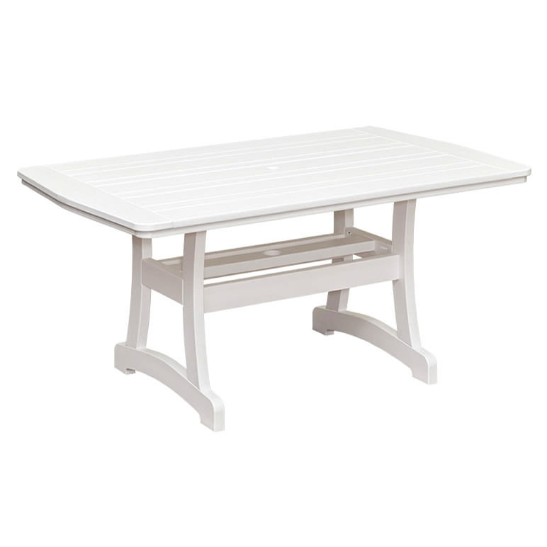 Casual Comfort Poly Lumber 40 x 84 Bayshore Counter Table