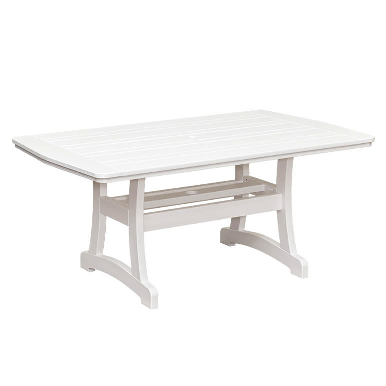 Casual Comfort Poly Lumber 40 x 84 Bayshore Dining Table