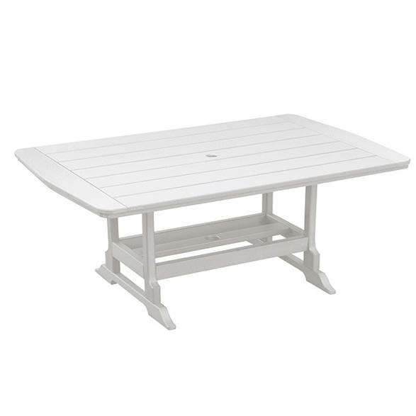 Casual Comfort Poly Lumber 40 x 84 Oceanside Dining Table