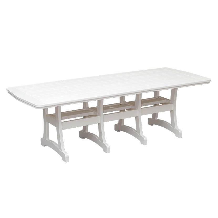 Casual Comfort Poly Lumber 40 x 96 Bayshore Dining Table