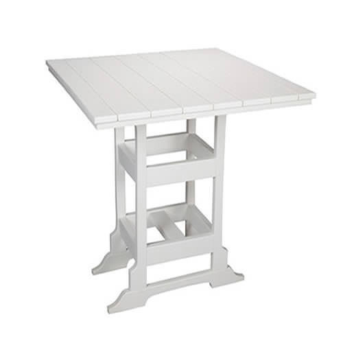 Casual Comfort Poly Lumber 42in Oceanside Bar Table -  Square