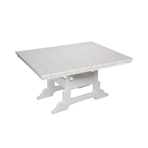 Casual Comfort Poly Lumber 42in Oceanside Conversation Table -  Square