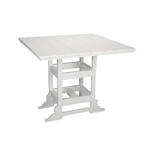 Casual Comfort Poly Lumber 42in Oceanside Dining Table -  Square