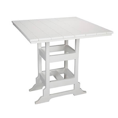 Casual Comfort Poly Lumber 48in Oceanside Bar Table -  Square