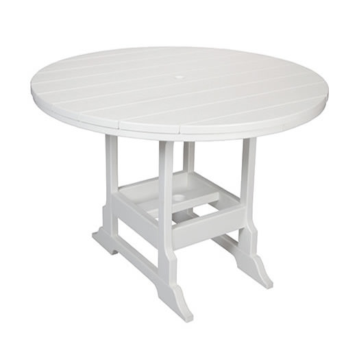 Casual Comfort Poly Lumber 48in Oceanside Counter Table - Round