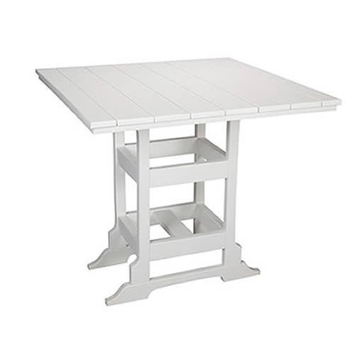 Casual Comfort Poly Lumber 48in Oceanside Counter Table -  Square