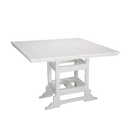 Casual Comfort Poly Lumber 48in Oceanside Dining Table -  Square