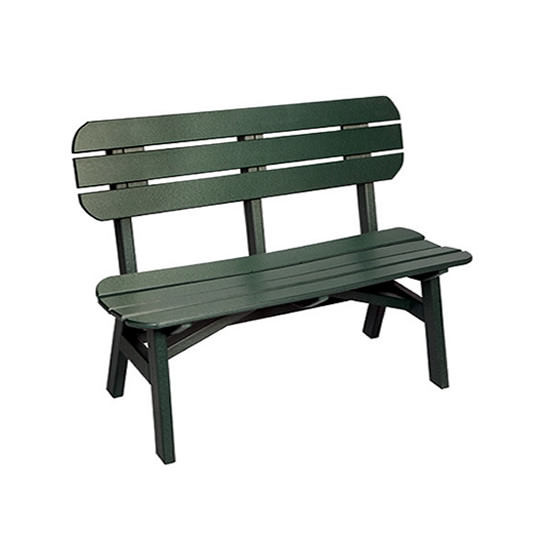 Casual Comfort Poly Lumber 5' Oceanside Bench