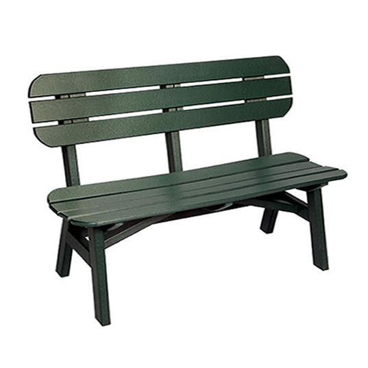 Casual Comfort Poly Lumber 6' Oceanside Bench
