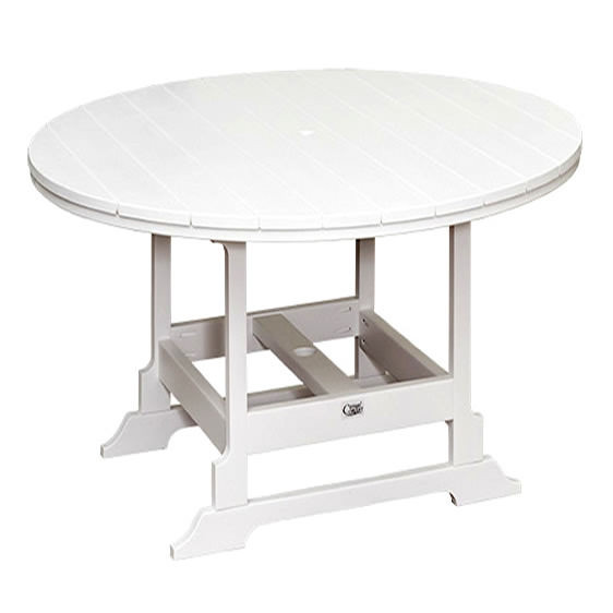 Casual Comfort Poly Lumber 60in Oceanside Bar Table - Round