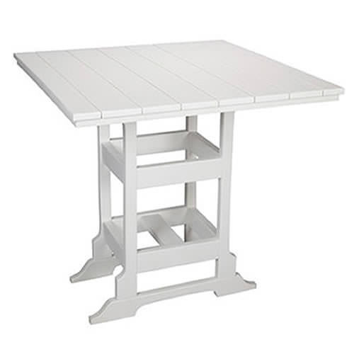 Casual Comfort Poly Lumber 60in Oceanside Bar Table -  Square
