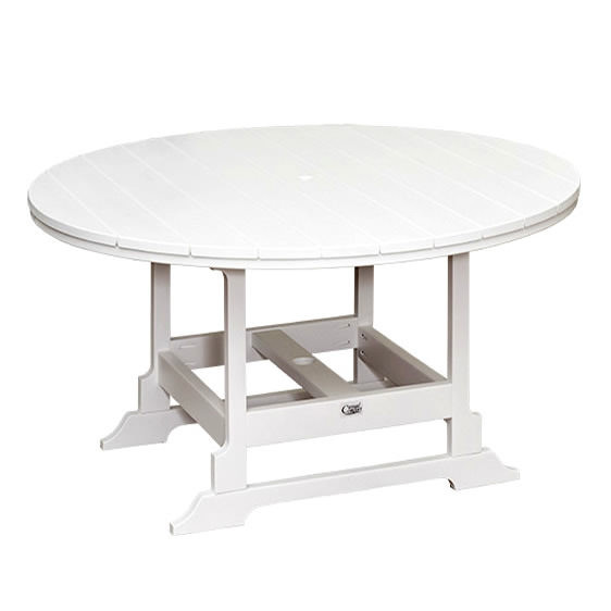 Casual Comfort Poly Lumber 60in Oceanside Counter Table - Round