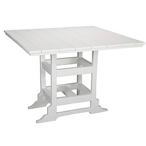 Casual Comfort Poly Lumber 60in Oceanside Counter Table -  Square