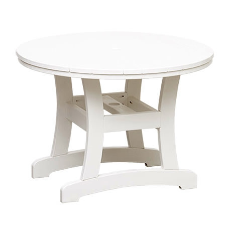 Casual Comfort Poly Lumber Bayshore 36in Dining Table - Round