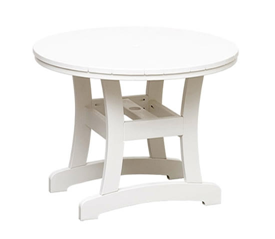 Casual Comfort Poly Lumber Bayshore 42in Bar Table - Round