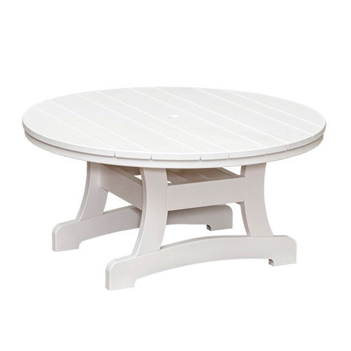 Casual Comfort Poly Lumber Bayshore 48in Conversation Table - Round