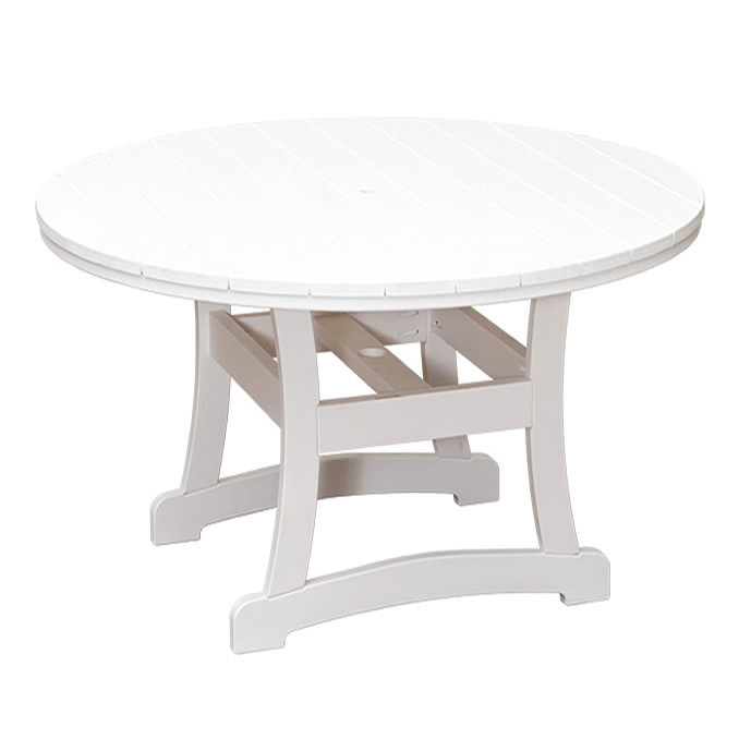 Casual Comfort Poly Lumber Bayshore 60in Bar Table - Round