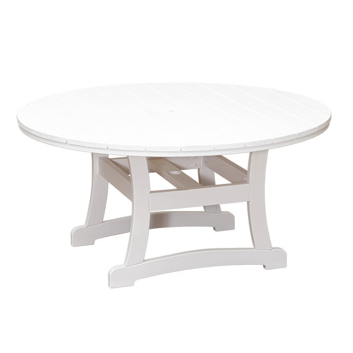 Casual Comfort Poly Lumber Bayshore 60in Dining Table - Round