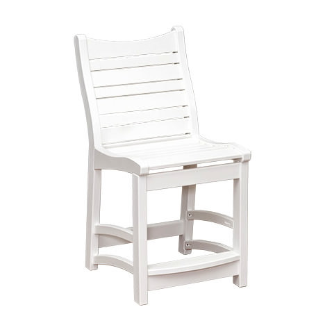 Casual Comfort Poly Lumber Bayshore Counter Chair