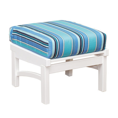 Casual Comfort Poly Lumber Bayshore Ottoman