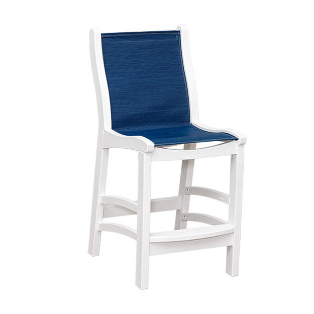 Casual Comfort Poly Lumber Bayshore Sling Counter Chair