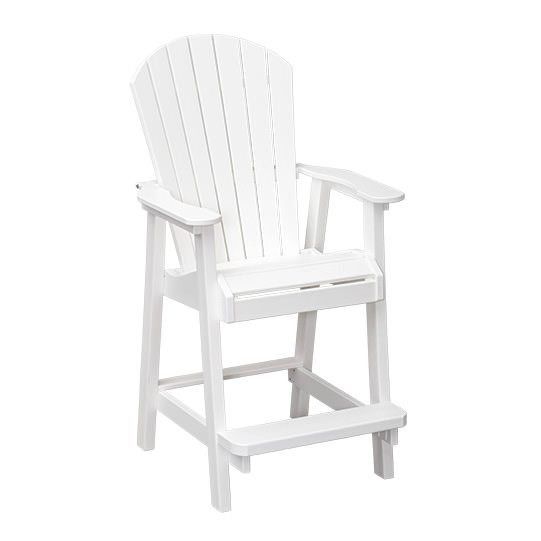 Casual Comfort Poly Lumber Bridgeport Bar Chair