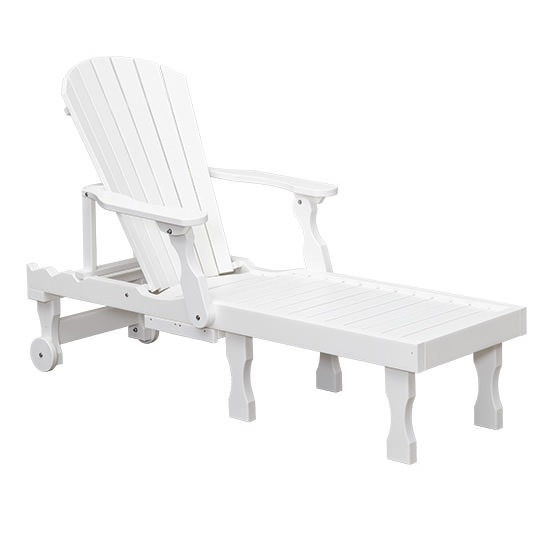 Casual Comfort Poly Lumber Oceanside Chaise Lounge