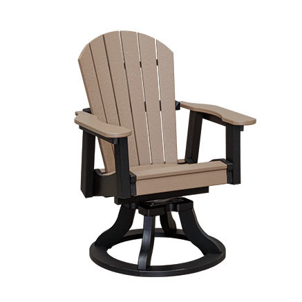 Casual Comfort Poly Lumber Oceanside Swivel Dining Chair
