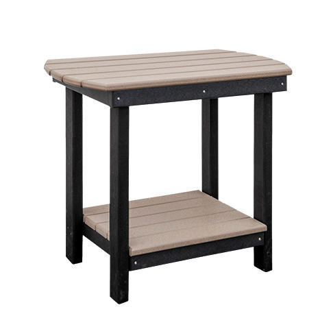 Casual Comfort Poly Lumber Oval End Table