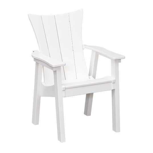 Casual Comfort Poly Lumber Wavz Dining Chair