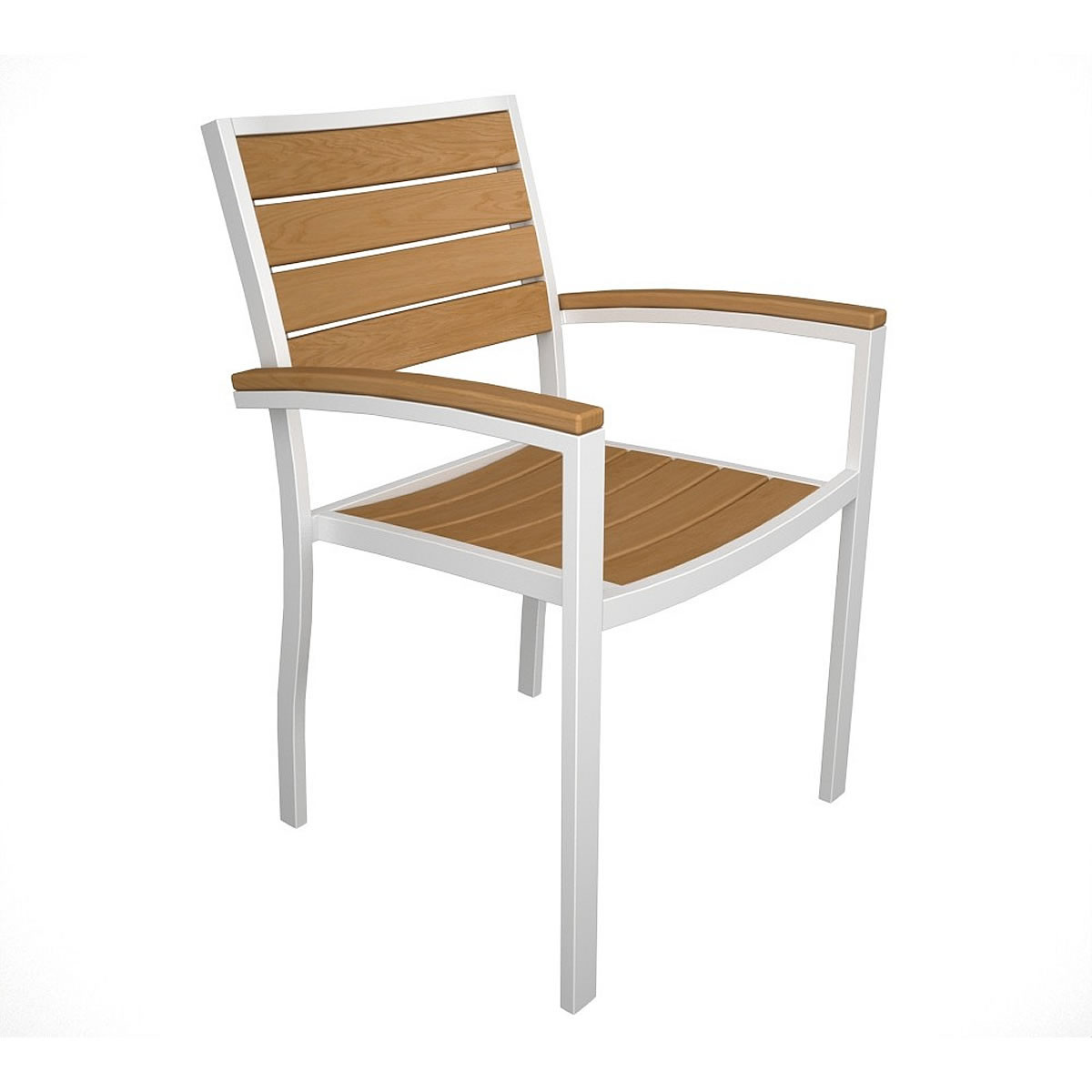 POLYWOOD Euro Arm Chair with Plastique