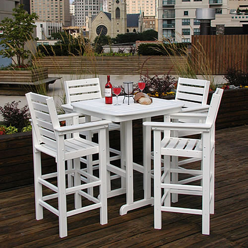 POLYWOOD® Captains 30 in Bar Set