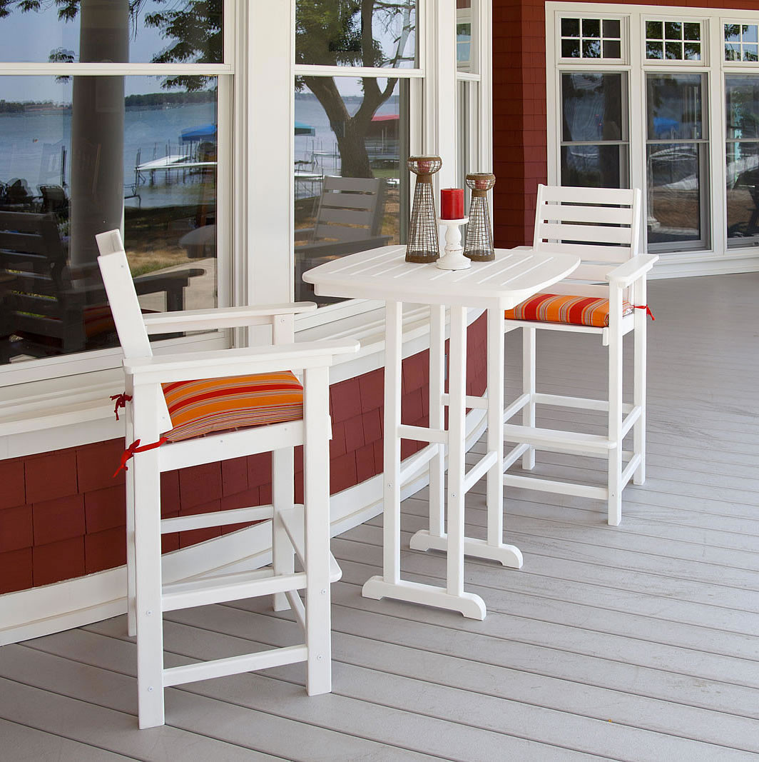 POLYWOOD® Captain Bar Set for Two