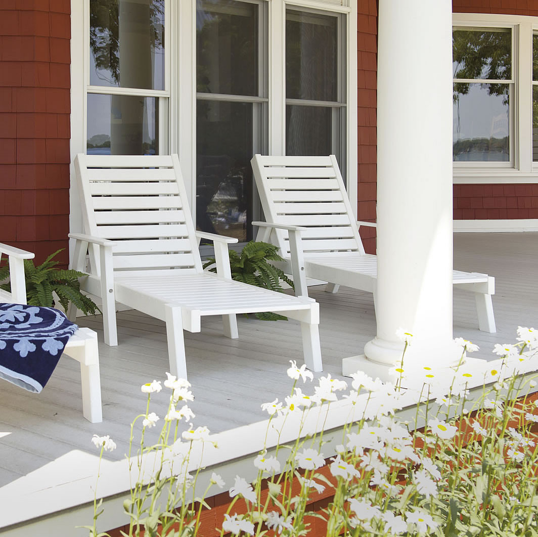 POLYWOOD® Captain's Chaise Lounge