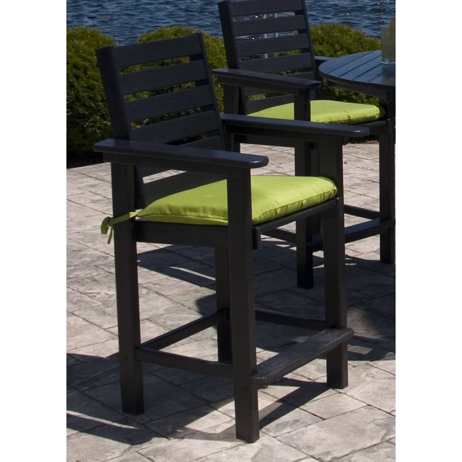 POLYWOOD Captains Counter Chair Captains POLYWOOD Outdoor Furniture Collections