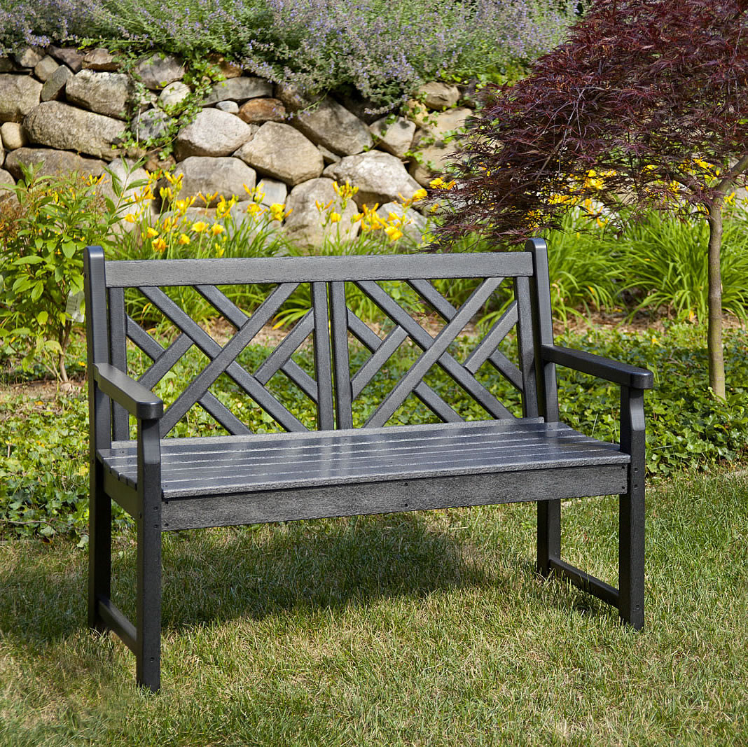 Polywood Chippendale 48 In Bench Chippendale Collection Polywood Outdoor Furniture