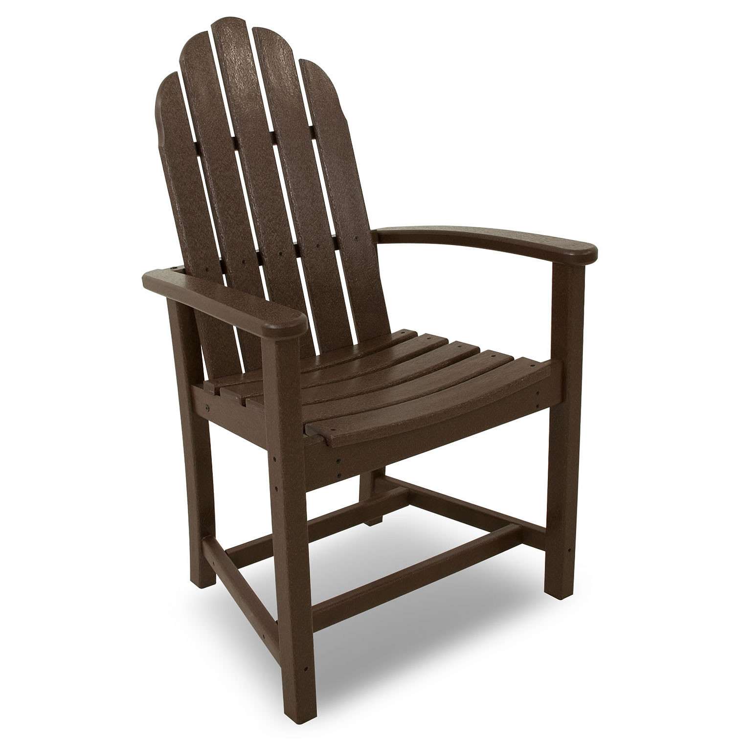 POLYWOOD Classic Adirondack Dining Chair Classic Adirondack POLYWOOD Outdoor Furniture