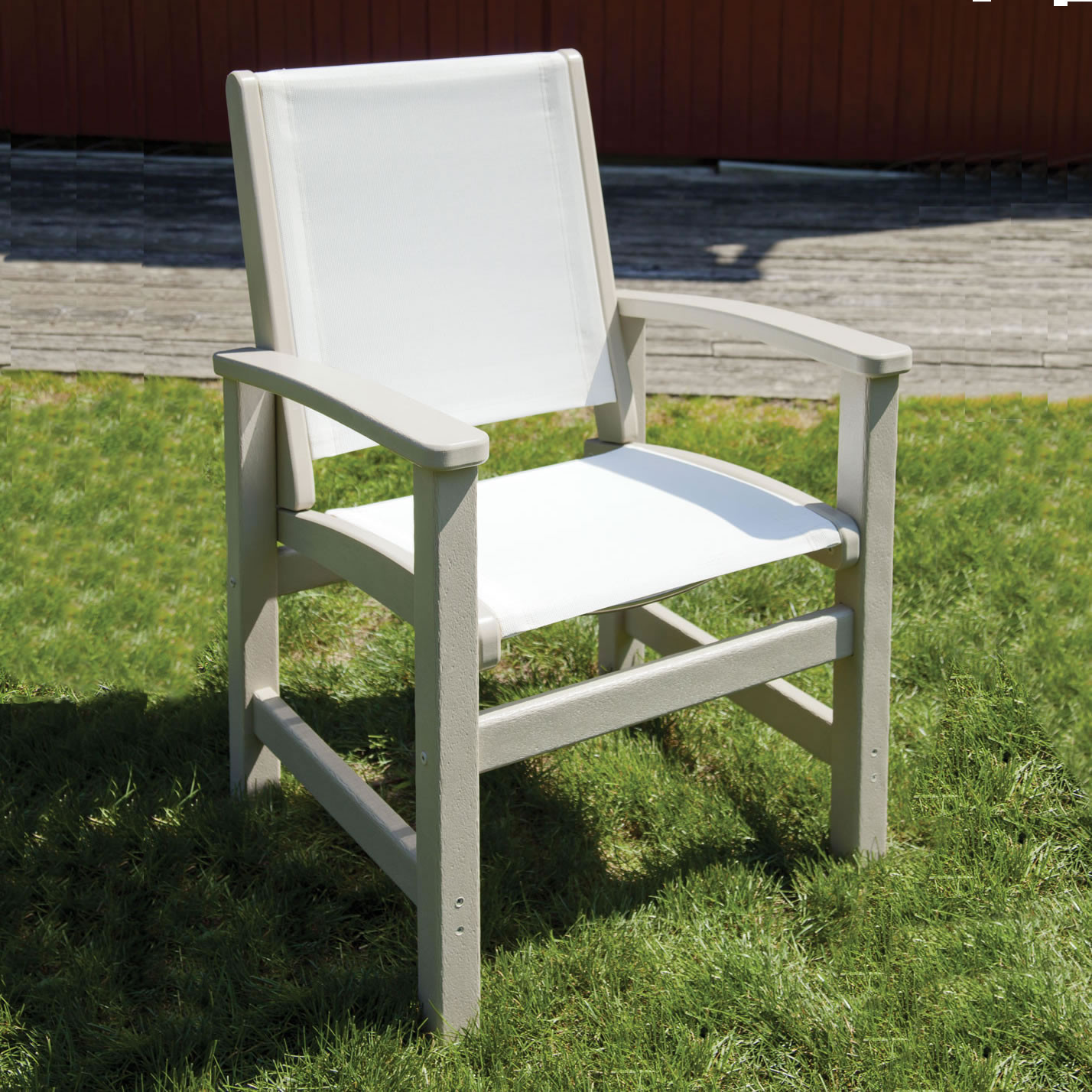 Stupendous Polywood Coastal Dining Chair Dailytribune Chair Design For Home Dailytribuneorg