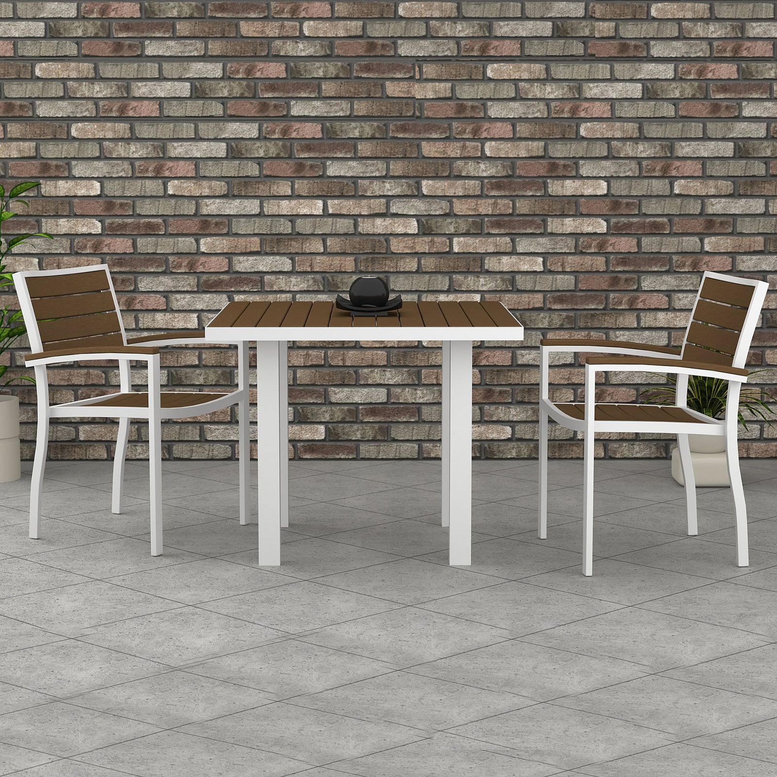 POLYWOOD® Euro Cafe Dining Set