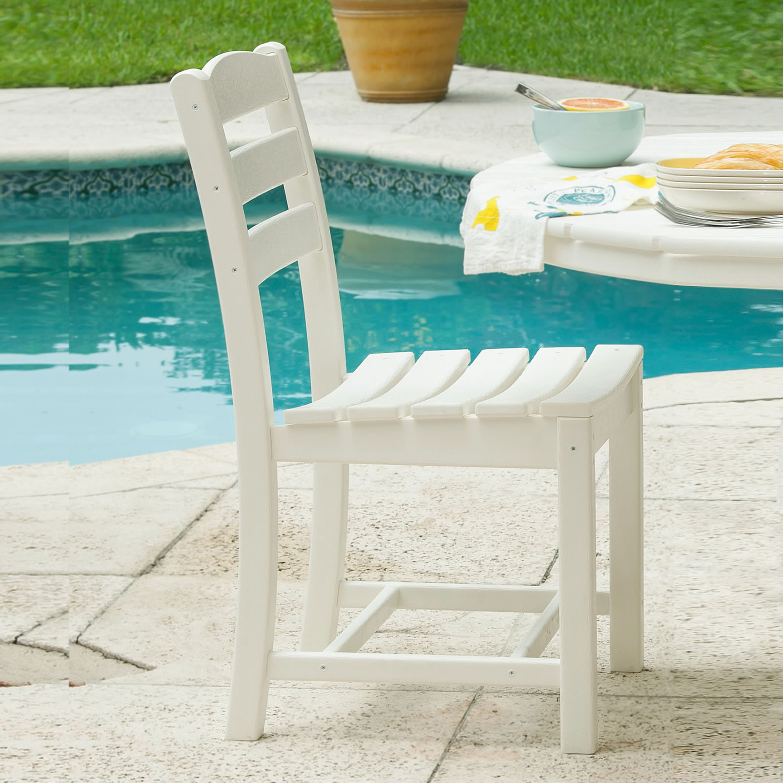 POLYWOOD La Casa Cafe Dining Chair (Sold in Pairs)
